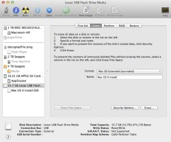 how do i install mac os x mountain lion from usb flash drive pen drive firewire