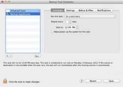 schedule mac backup clone