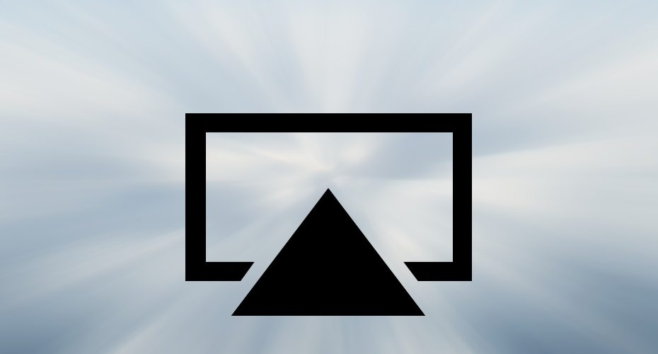what why is apple tv icon how to use airplay for apple tv mac