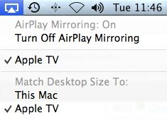 how to use airplay mirror show mac screen to apple tv
