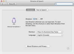 dication dictation mac tips tricks hidden feature speech to text mac