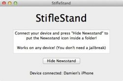 delete the newsstand app off iphone ipod ipad i don't use it