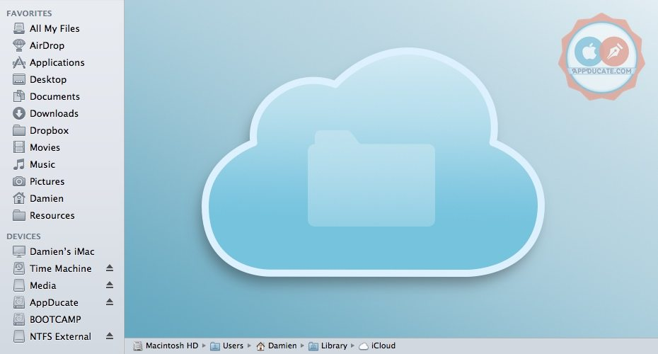 browse icloud files and folders on computer ftp