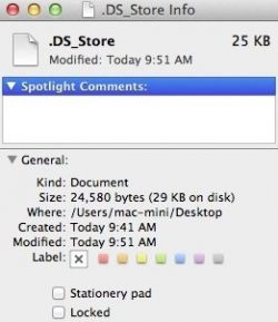 DS_Store file size