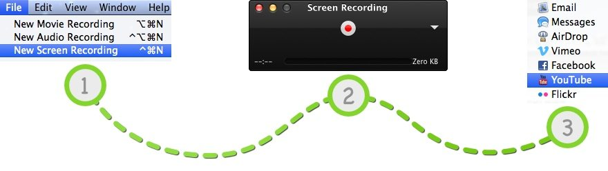 record screen mac os x