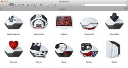 change folder icons mac